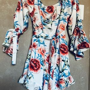 Pretty Little Thing Floral Spring Romper